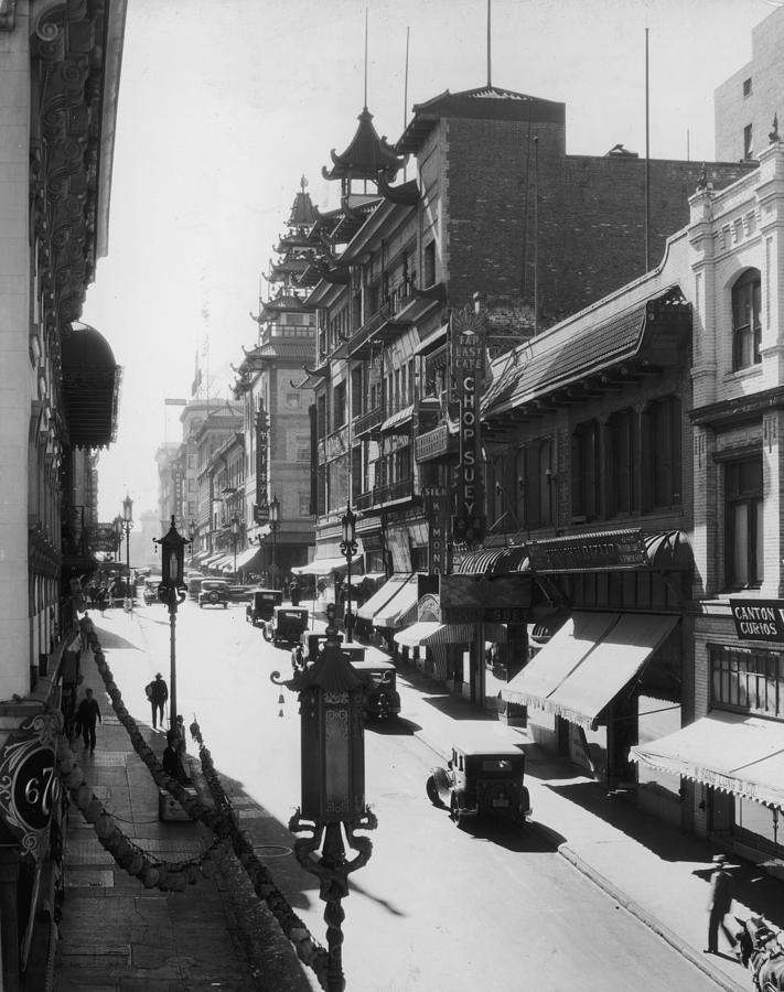 Chinatown Photograph by Hulton Archive