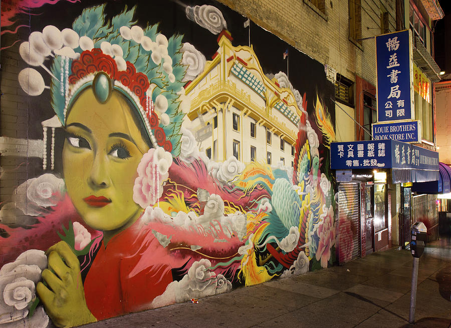 Chinatown Mural San Francisco by Nathan Rupert