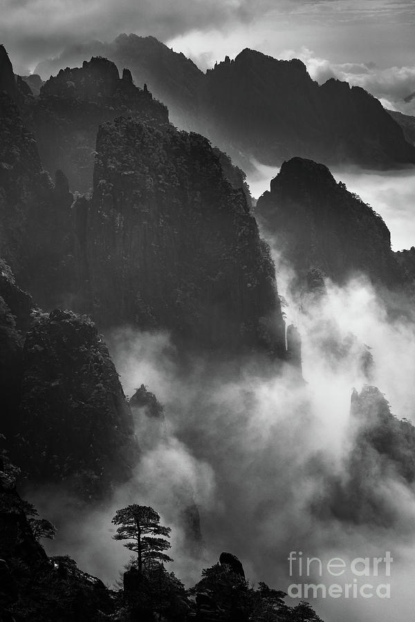 Anhui Province Photograph - Chinese Grand Canyon by Inge Johnsson