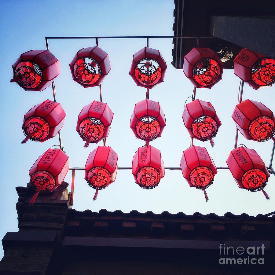 Chinese Red Lanterns by Iryna Liveoak