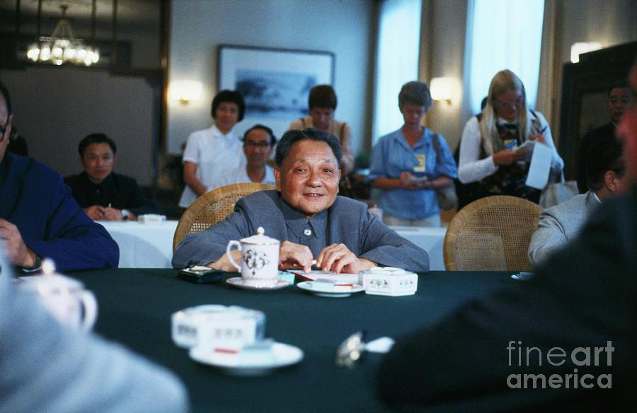 Chinese Vice Premier Deng Xiaoping Photograph by Bettmann