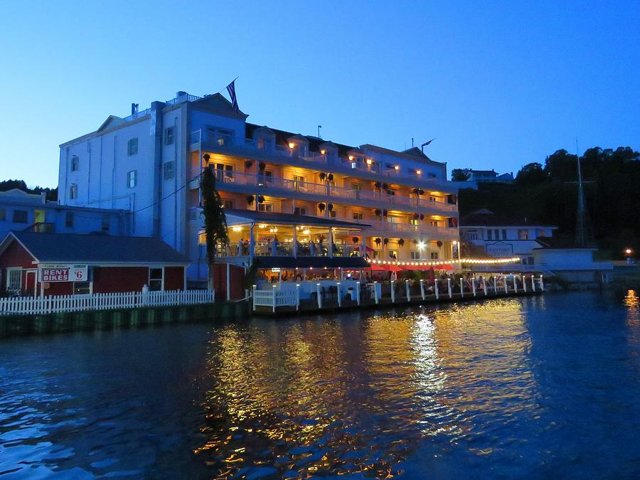 Chippewa Hotel on Mackinac Island by Keith Stokes