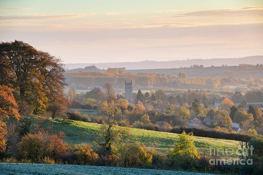 Chipping Campden Photograph - Chipping Campden Autumn Morning Cotswolds by Tim Gainey