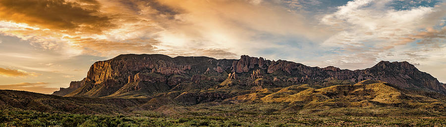 Chisos Mountains Sunrise by David Downs