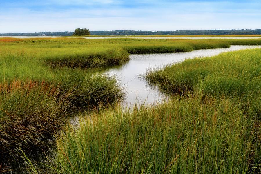 Choate Is. Estuary Ipswich Ma. by Michael Hubley
