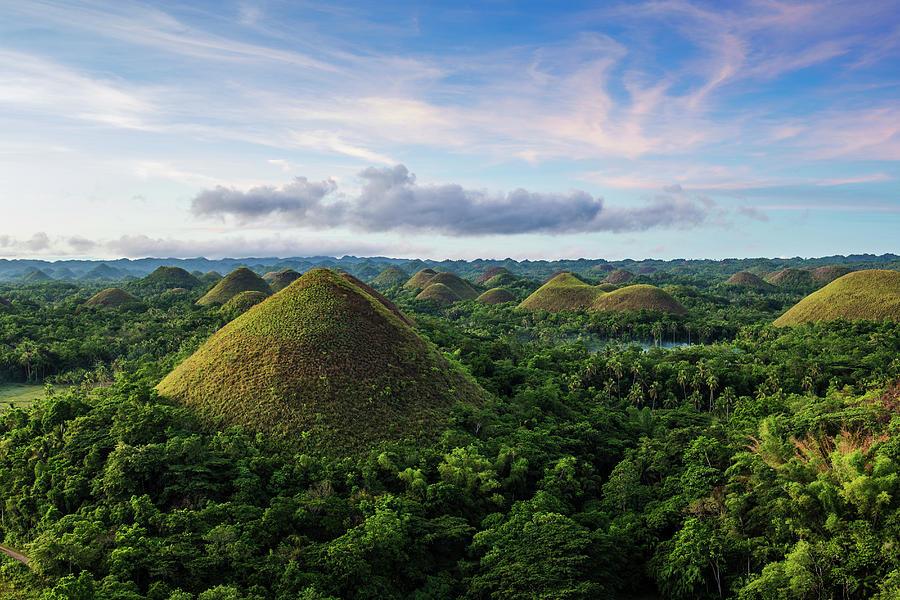 Chocolate Hills, Bohol, Philippines Photograph by John Harper