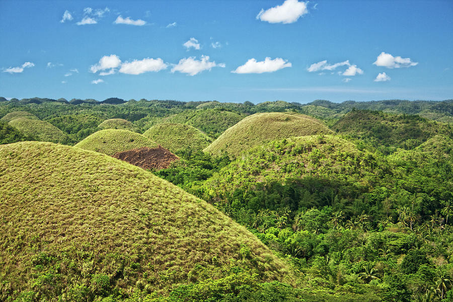 Chocolate Hills In Bohol Photograph by Photography By Jeremy Villasis. Philippines.