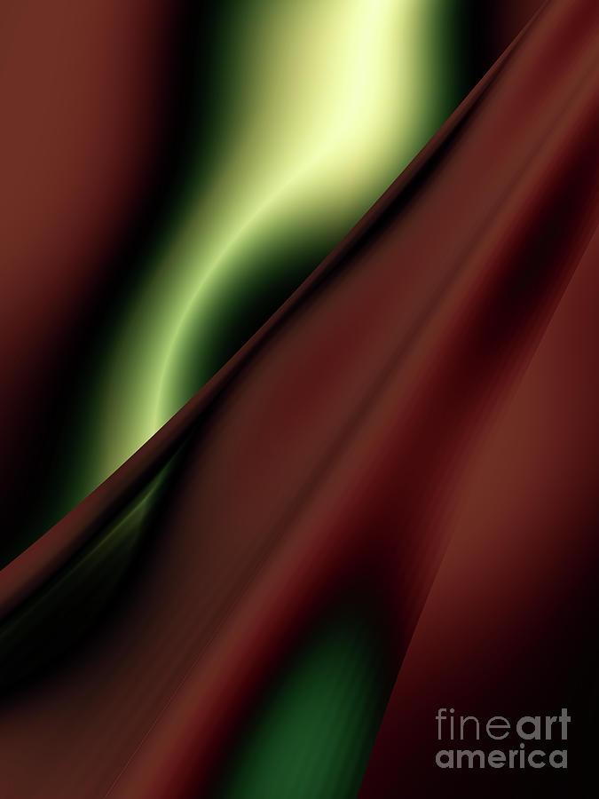 Chocolate Digital Art - Chocolate Mint by Iustina