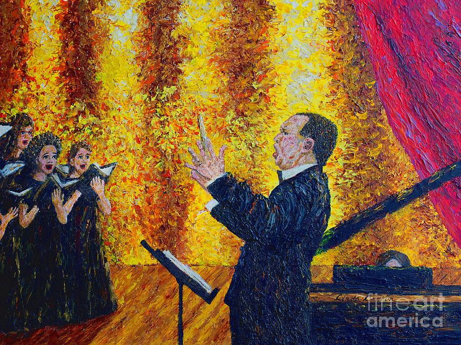 Choir On Fire by Linda Donlin