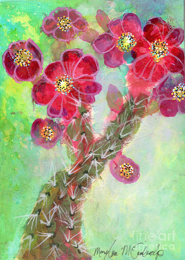 Chollas  by Mary Lou McCambridge