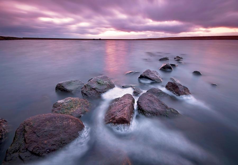 Choppy Waters Photograph by Simon Higginbottom