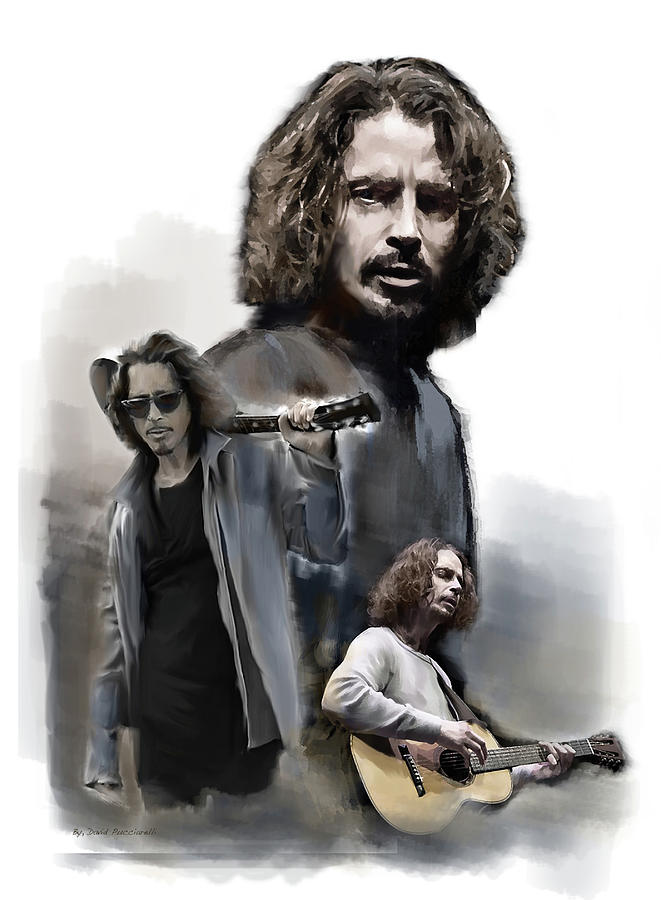 Chris Cornell Enough Said by Iconic Images Art Gallery David Pucciarelli