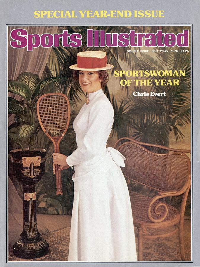 Chris Evert, 1976 Sportswoman Of The Year Sports Illustrated Cover Photograph by Sports Illustrated