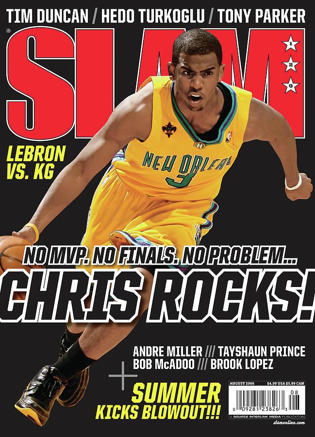 Chris Paul Photograph - Chris Rocks! SLAM Cover by Getty Images