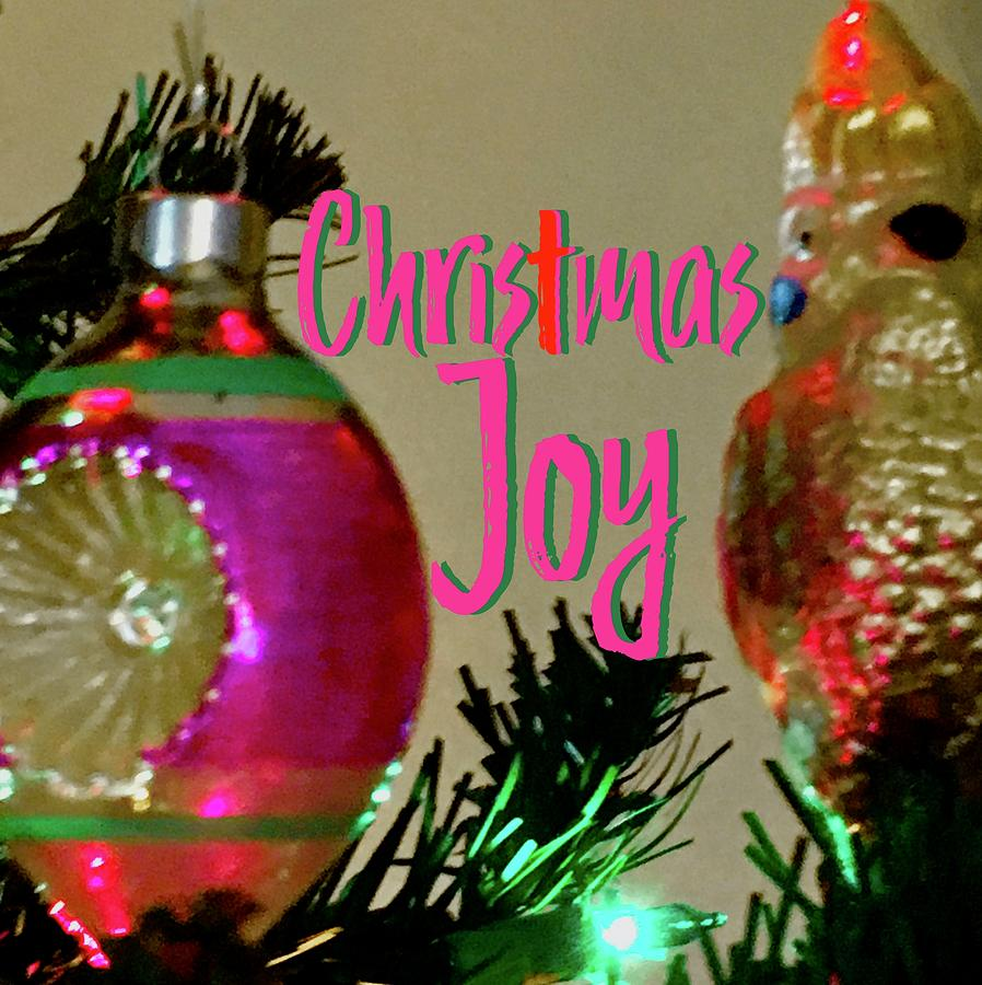 Chris-t-Mas Joy Vintage Ornaments by Debra Grace Addison