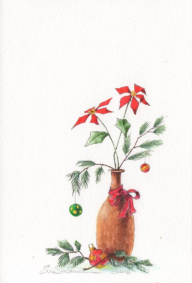 Chrismas Vase by Eric Suchman