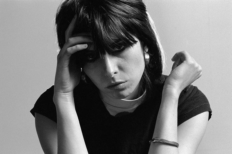 Chrissie Hynde Portrait Photograph by Fin Costello