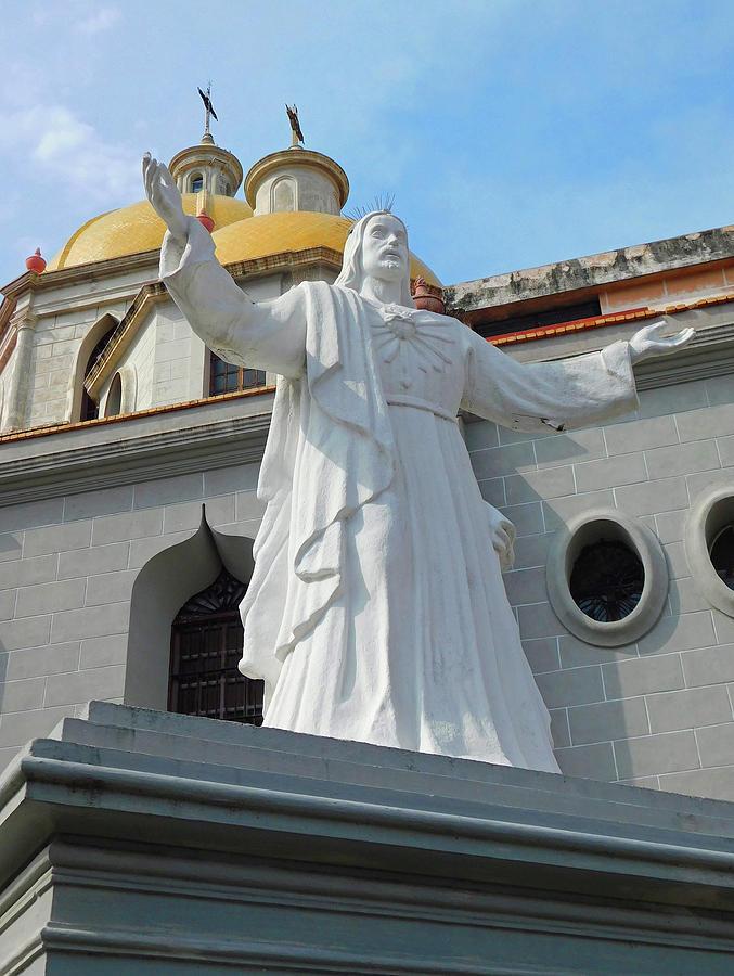 Christ-catedral Of The Immaculate Conception In Historic Mazatlan Photograph