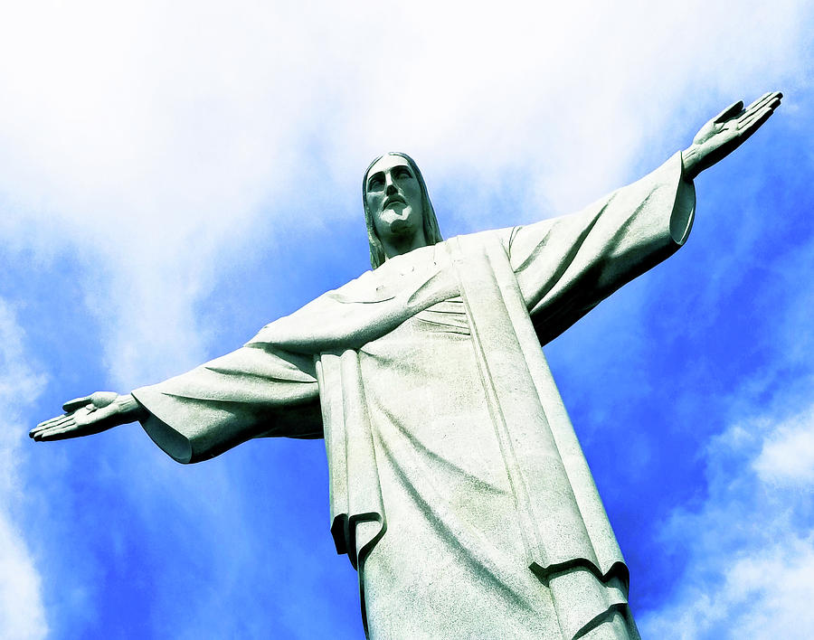 Christ on Corcovado Mountain by Roger Bester