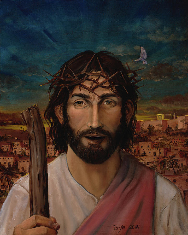 Christ the King Painting by Scott Bryte