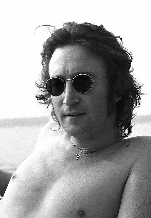 Christ You Know It Ain't Easy John Lennon by Iconic Images Art Gallery David Pucciarelli