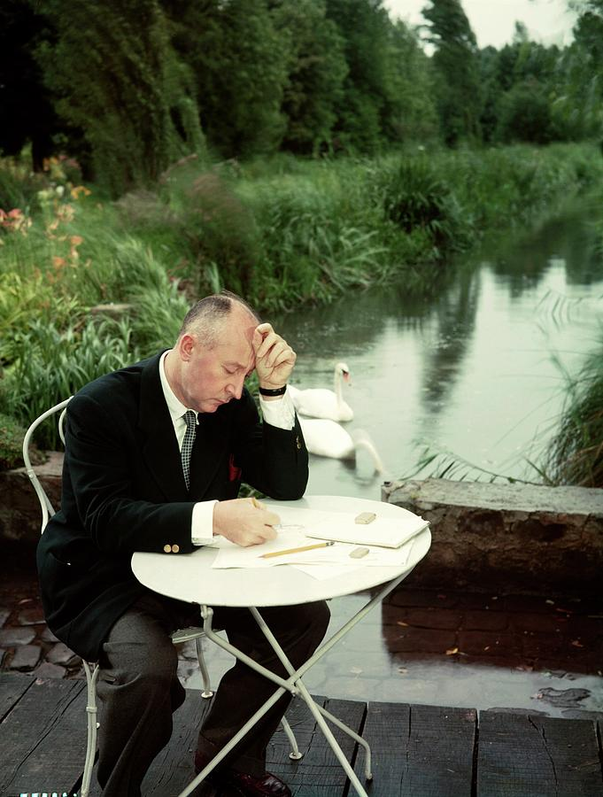 Christian Dior In France In The 1950s - Photograph by Kammerman