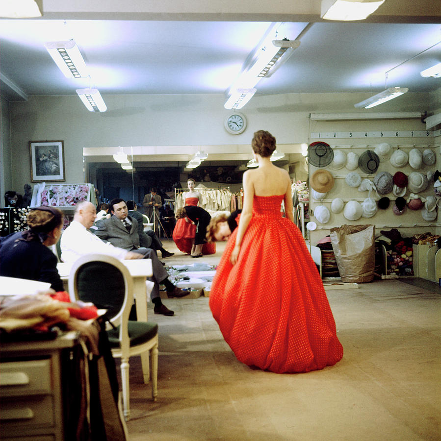 Christian Diorchristian Dior Misc Photograph by Loomis Dean