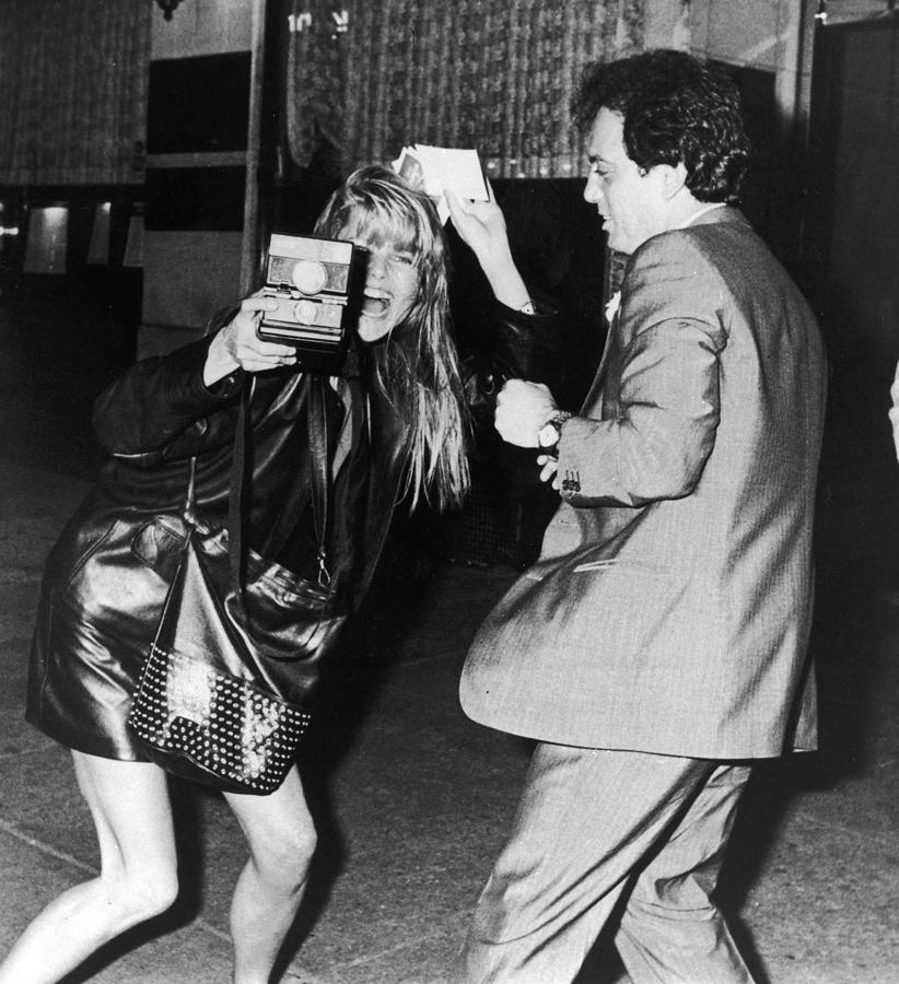 Christie Brinkley & Billy Joel Photograph by Express Newspapers