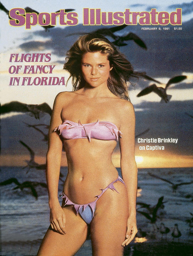 Christie Brinkley Swimsuit 1981 Sports Illustrated Cover Photograph by Sports Illustrated