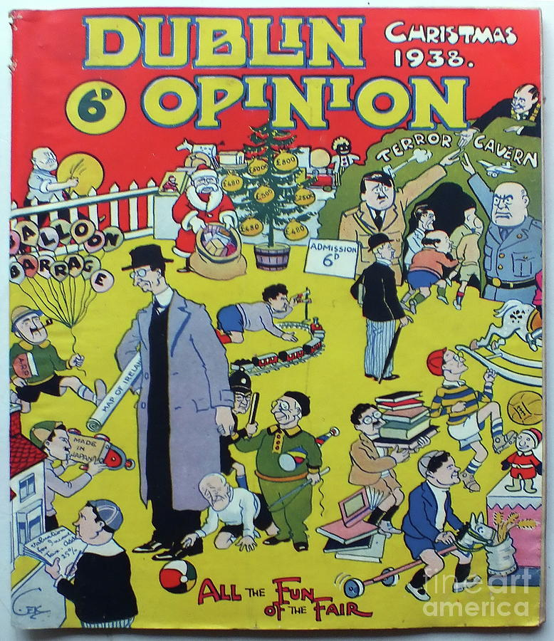 Christmas 1938 Dublin Opinion by Misc