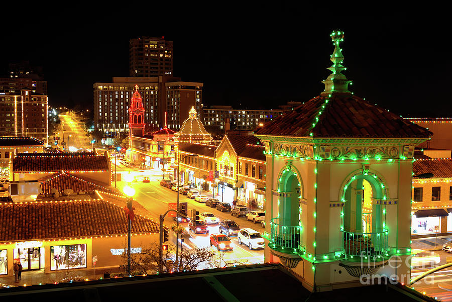 Christmas Along Broadway in Kansas City by Jean Hutchison