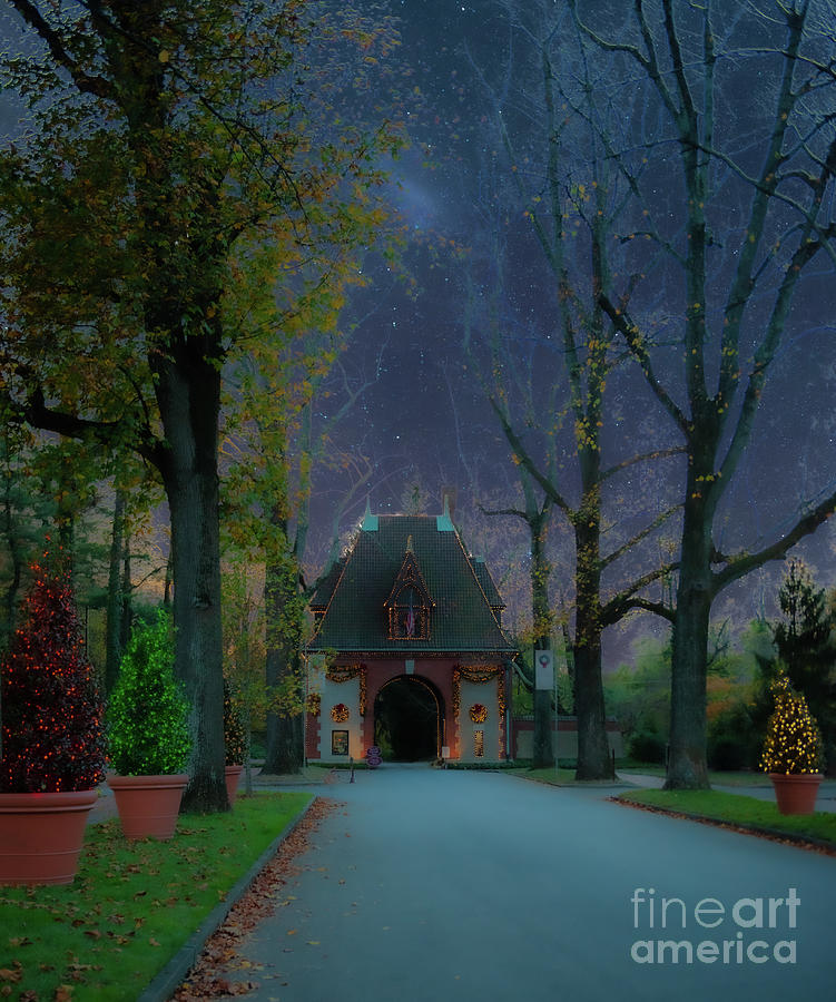 Christmas At Biltmore Estate In Asheville North Carolina Photograph