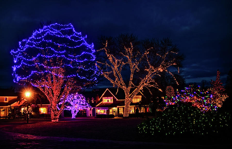 Christmas at Peddlers Village by Carolyn Derstine