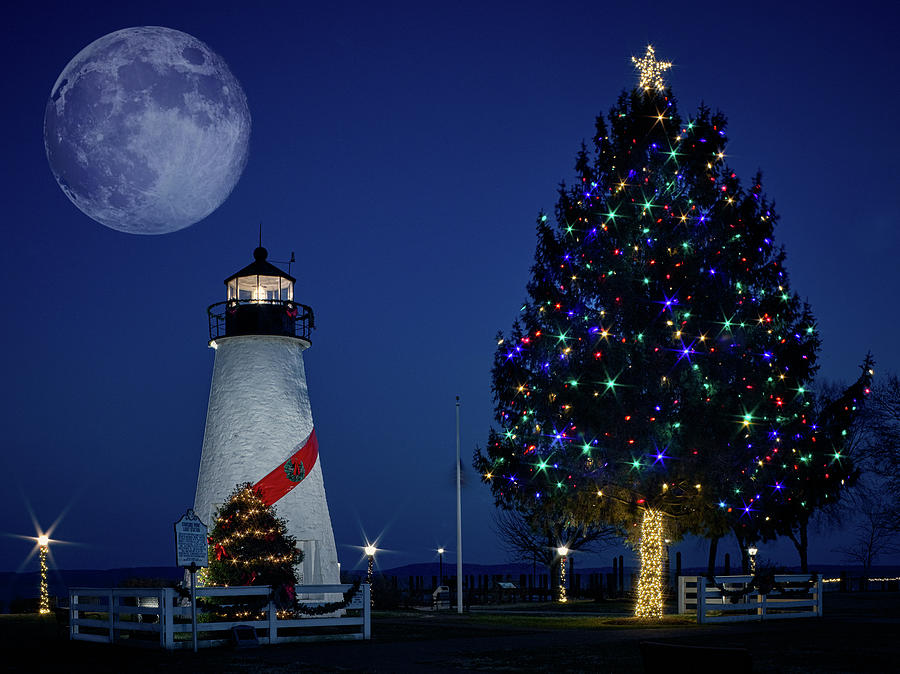 Christmas at the Lighthouse  by Teresa Mann