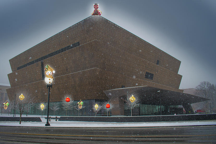Christmas at the National Museum for African American History and Culture by MARVIN BOWSER