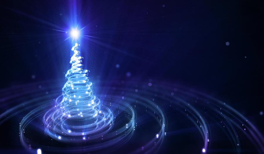 Christmas Background Digital Art by Da-kuk