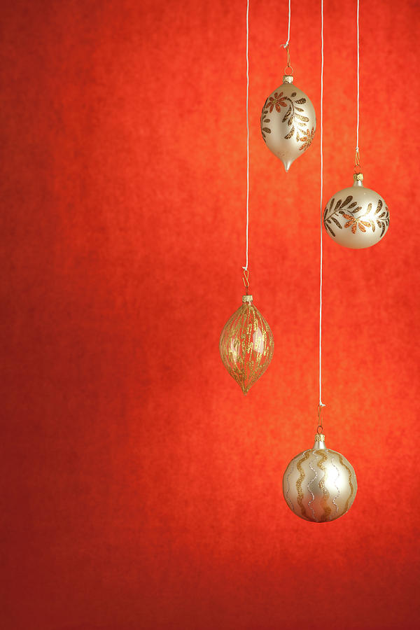 Christmas Ball Photograph by Deimagine