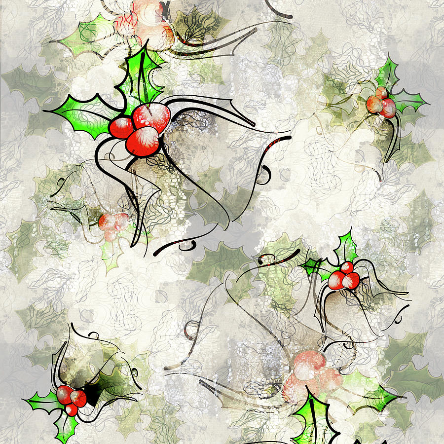 Christmas bells overlay by Jocelyn Friis