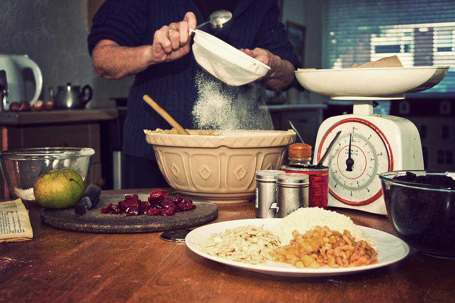 Christmas Cake Making Photograph by Image By Catherine Macbride