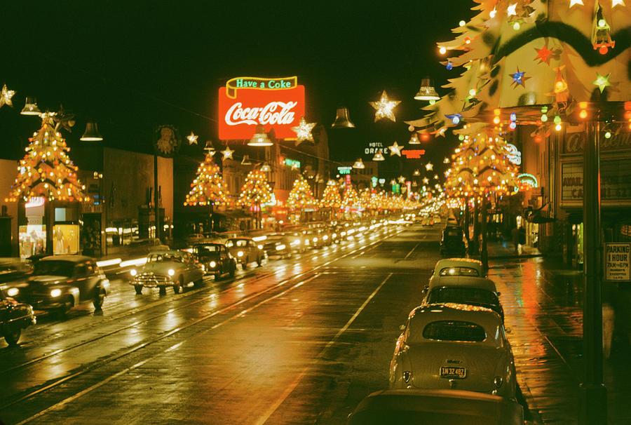 Christmas In La Photograph by Harvey Meston