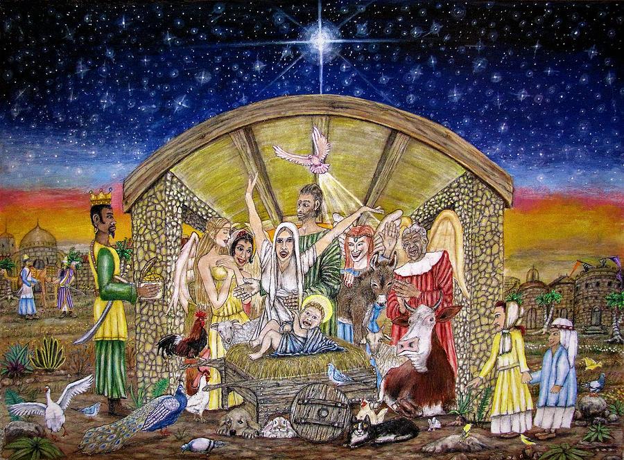 Christmas Joy Mixed Media