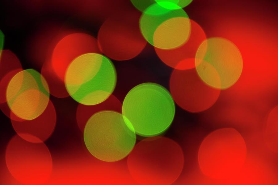 Christmas Lights Photograph by Eli asenova