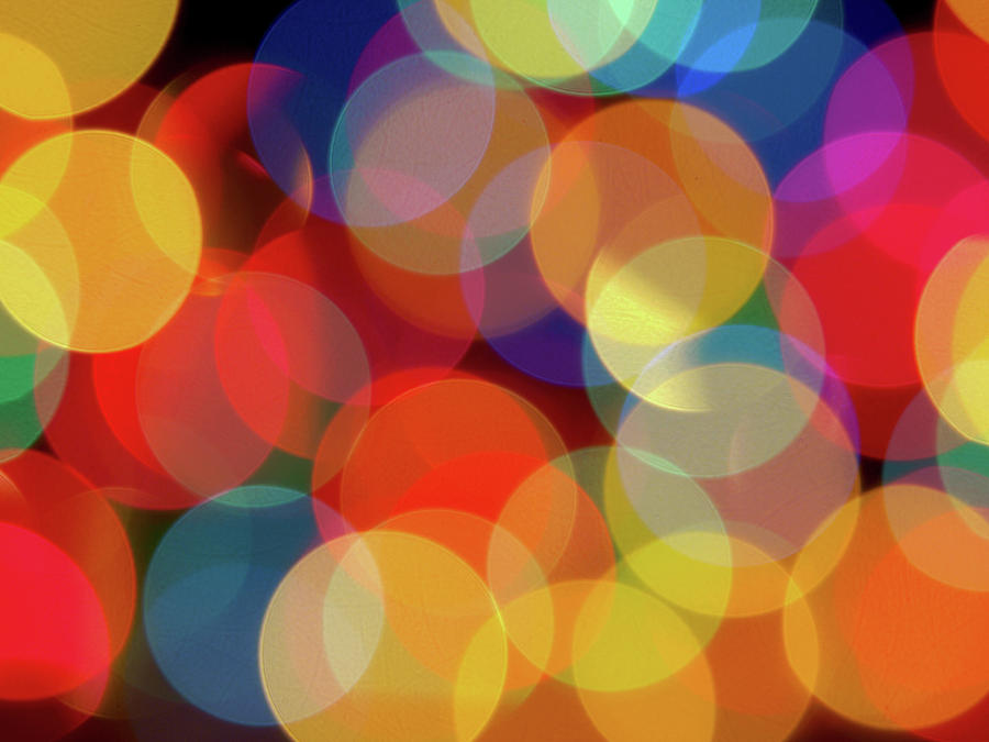 Christmas Lights Photograph by Joey Waitschat