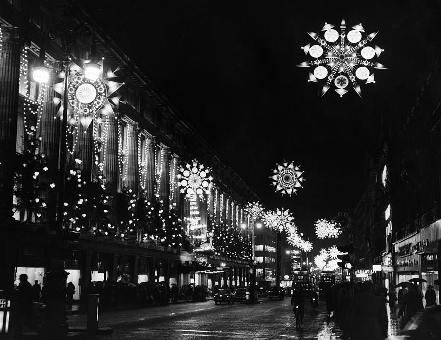 Christmas Lights Photograph by William Vanderson