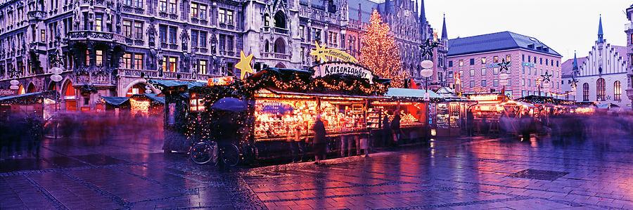 Christmas Market Photograph by Murat Taner