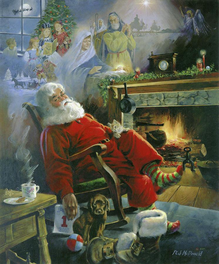 Christmas Memories Painting - Christmas Memories by R.j. Mcdonald