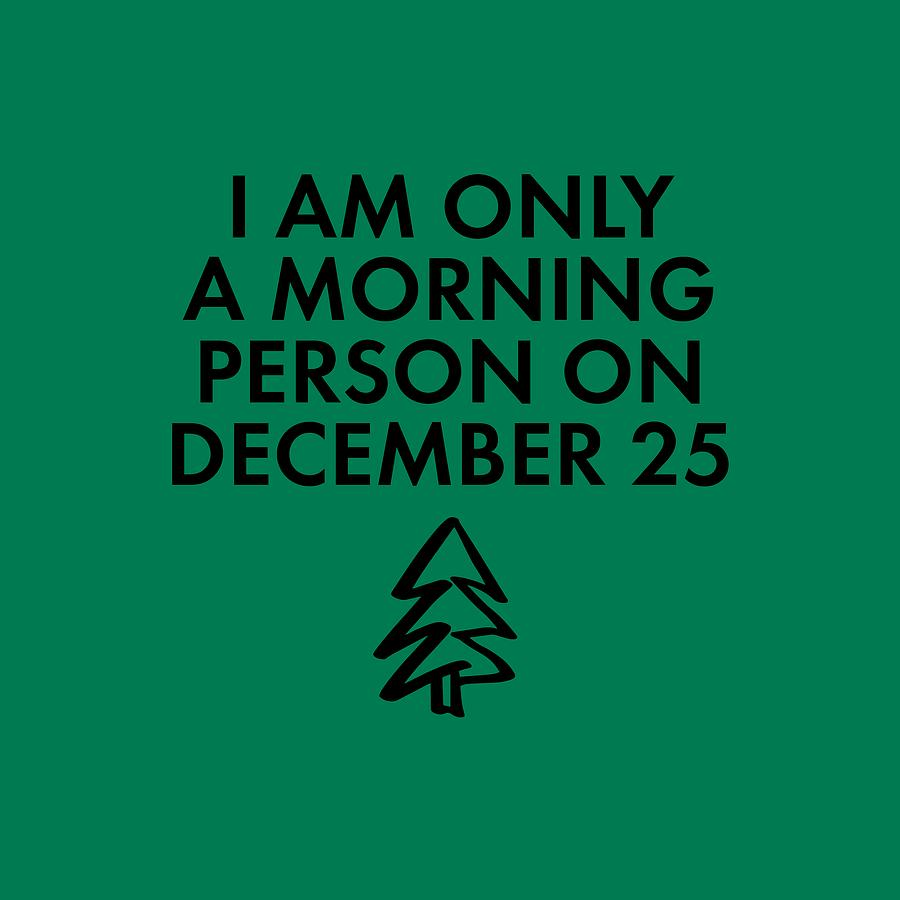 CHRISTMAS MORNING PERSON by Nancy Ingersoll