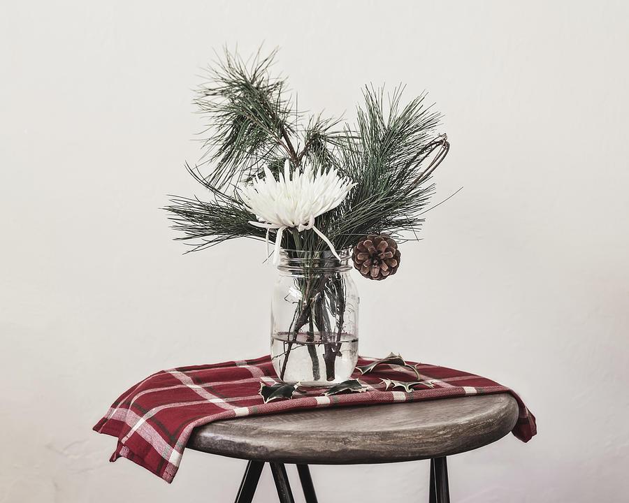 Christmas Still Life by Kim Hojnacki