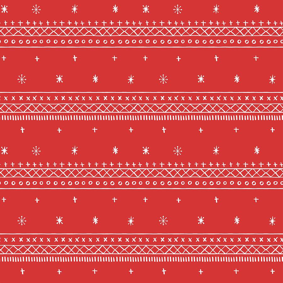 Christmas Sweater Pattern by Jen Montgomery