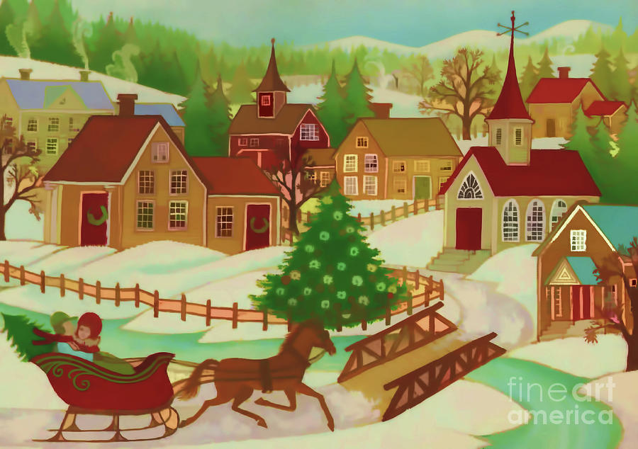 Christmas Town by D Hackett